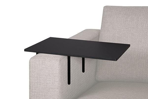 HELPER stolik boczny do sofy duży Czarny-fenix