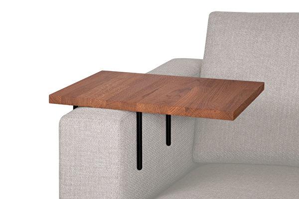 HELPER stolik boczny do sofy duży Czekoladowy