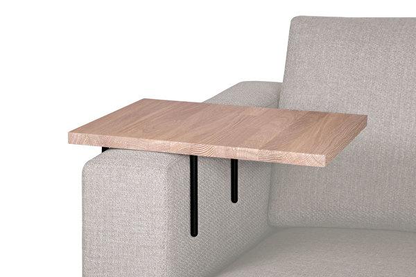 HELPER stolik boczny do sofy duży Zabielany-dab