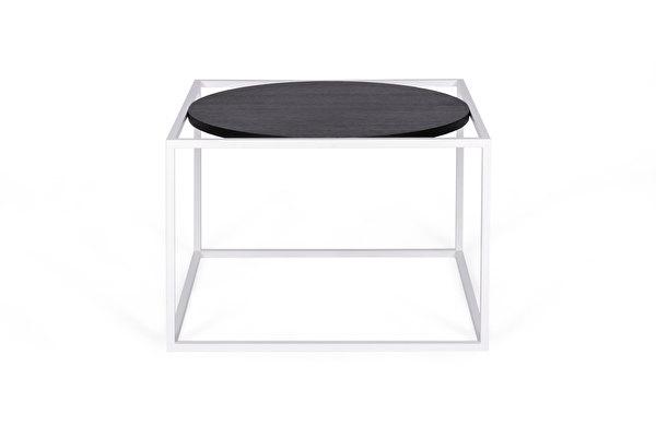 FOREST Round Biały stolik kawowy