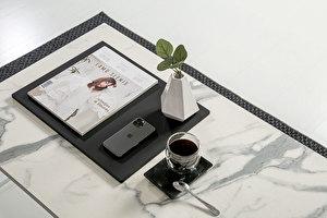 FOREST Biały długi Stolik Kawowy